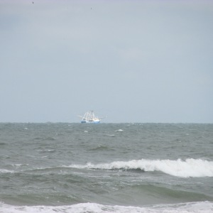 FISHING BOAT OFF OF NEW SMYRNA BEACH