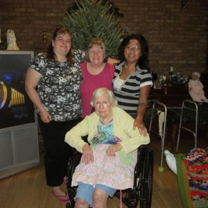CINDY, ME, MARY AND MOM