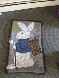 right side of the rug