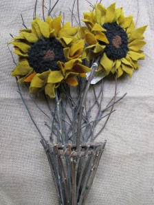 PRIMITIVE SUNFLOWERS