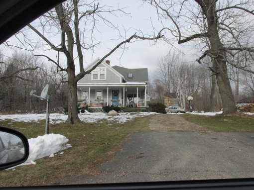 THE HOUSE WHERE MY GRANDFATHER WAS  BORN