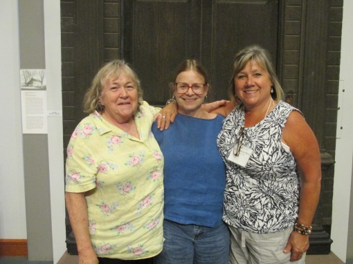 Myself Jill who has moved close to be and Jody who I haven't seen in years who lives in Maine.